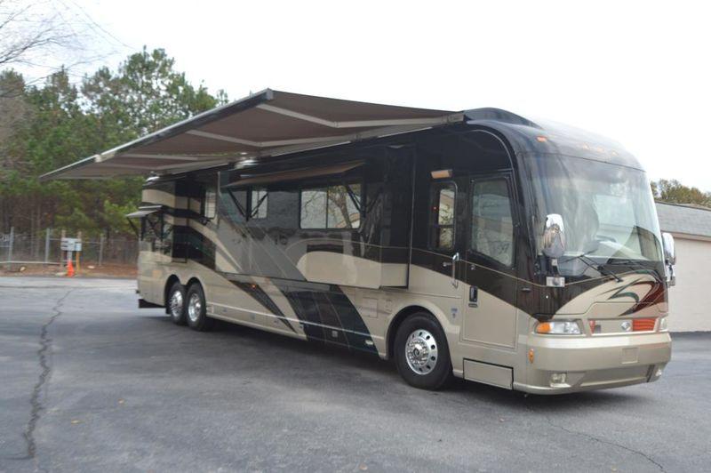 2006 Country Coach Magna 630 Rembrandt 525 Quad Slide
