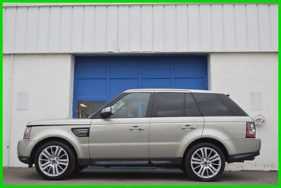 2013 Land Rover Range Rover Sport HSE Luxury 5.0L V8 Moonroof Nav Rear Cam Loaded Repairable Rebuildable Salvage Runs Great Project Builder Fixer Easy Fix Save
