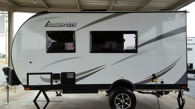 2017 Livinlite CampLite Travel Trailers CL14DB