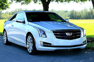 2015 Cadillac ATS Luxury Coupe 2-Door 2015 Cadillac ATS Luxury Coupe Audi A5 2014 2016 BMW 428i 4 series