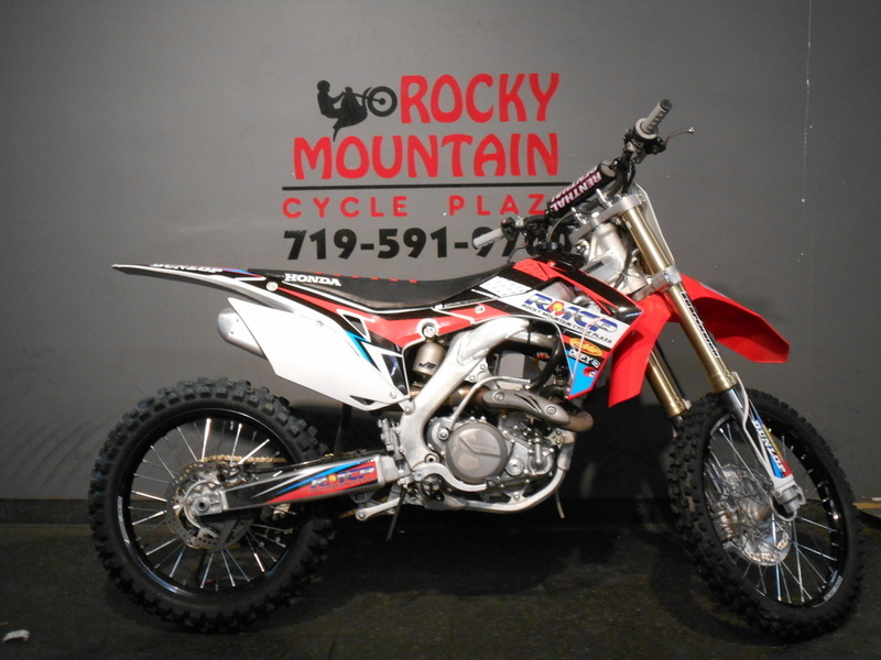 honda crf450r motorcycles for sale in colorado springs colorado. Black Bedroom Furniture Sets. Home Design Ideas