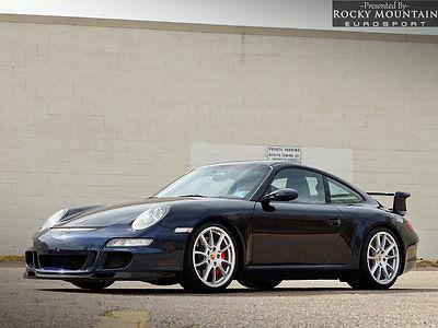 2007 Porsche 911 2dr Coupe GT3 2007 Porsche 911 Coupe GT3 Fresh Service Perfect DME