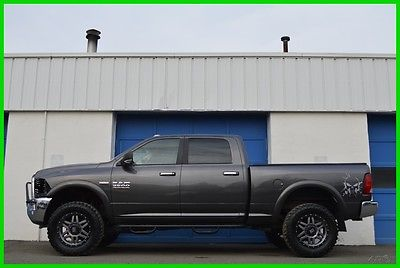 2015 Ram 2500 Big Horn Crew Cab 4X4 4WD Hemi 6.4L Lifted Save Repairable Rebuildable Salvage Runs Great Project Builder Fixer Easy Fix Save