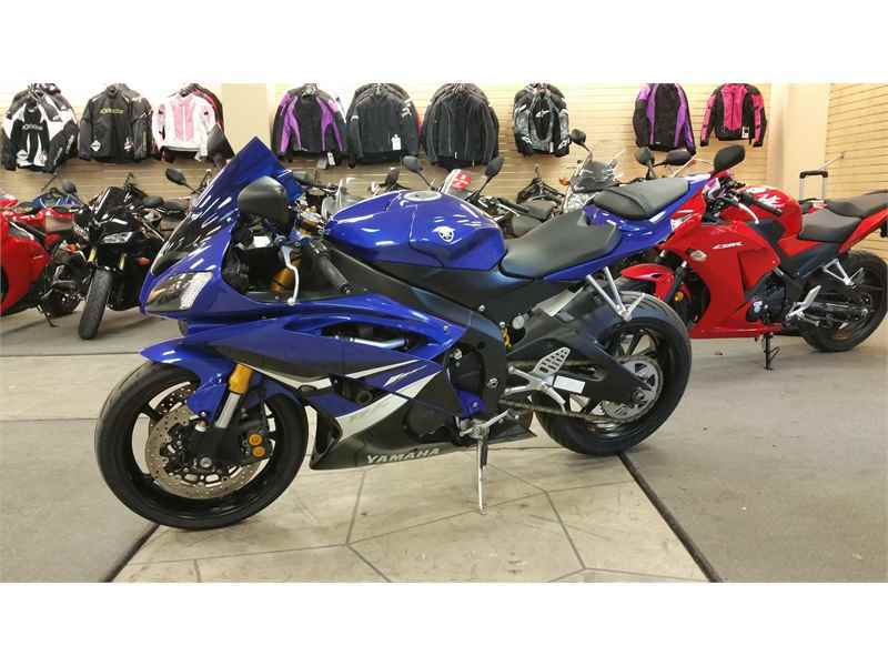 yamaha 2008 yamaha yzf r6 blue motorcycles for sale in wisconsin. Black Bedroom Furniture Sets. Home Design Ideas
