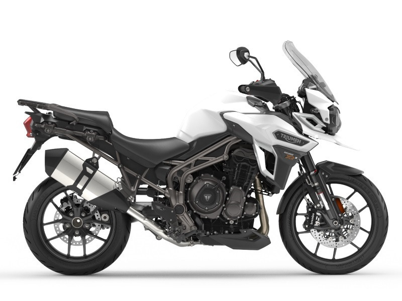 2017 Triumph Tiger Explorer XRX Low Crystal White