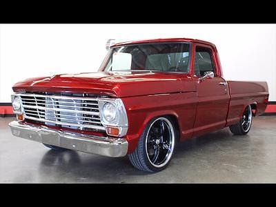 1969 Ford F-100  F100 Pickup 351 Windsor Candy Paint Restoration Resto Mod 4 Wheel Disc Frame Off