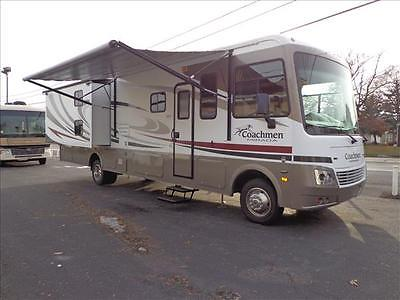 12 Coachmen Mirada 34' Class A Motor home, bunks, only 4700 miles!