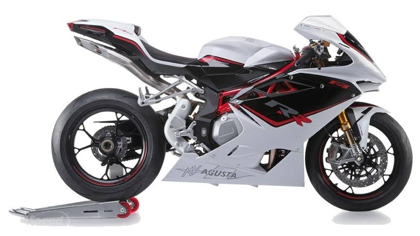 2015 Mv Agusta F4 RR - White Ice Pearl / Metal Black Ca