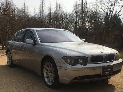2002 BMW 7-Series  745li free shipping warranty cheap clean carfax loaded luxury low mile wholesale
