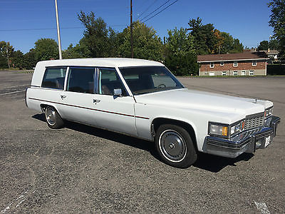 1977 Cadillac Fleetwood Fleetwood 1977 Cadillac Fleetwood Miller Meteor Ambulance Hearse Combo 425 V8, Jump Seat