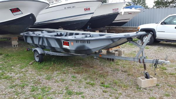 1995 Carolina Skiff J-1650 KIT