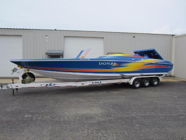 2006 Donzi 35 ZR