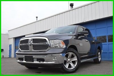 2014 Ram 1500 Big Horn Crew Cab 4x4 4WD EcoDiesel Serviced Save Navigation Front & Rear park Sensors Rear View Uconnect Cruise Turbo Diesel More