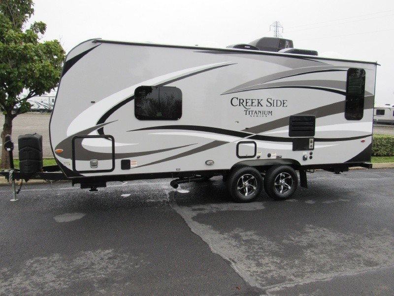 2017 Outdoors Rv Creekside 20FQ Titanium