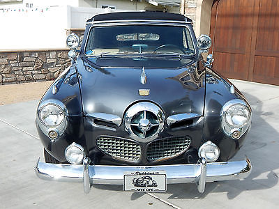 1950 Studebaker Champion 2 Door Convertible 1950 Studebaker Champion Convertible with Bullet Nose Grill - Restored