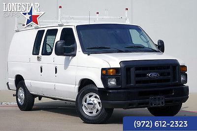 2009 Ford E250 Base Standard Cargo Van 3-Door 2009 White Econoline Cargo Van!