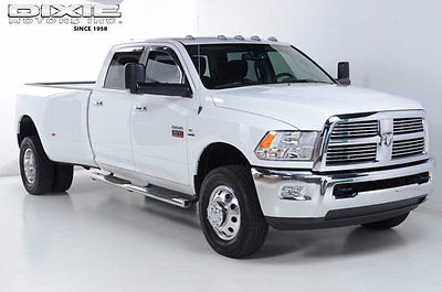 2012 Ram 3500 Big Horn 4x4 Cummins Only 12k miles Navigation Big Horn 4x4 Cummins Only 12k miles Alcoa wheels 4WD Carfax certified
