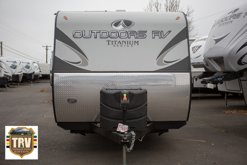2017 Outdoors Rv Creek Side 20FQ Titanium Edition