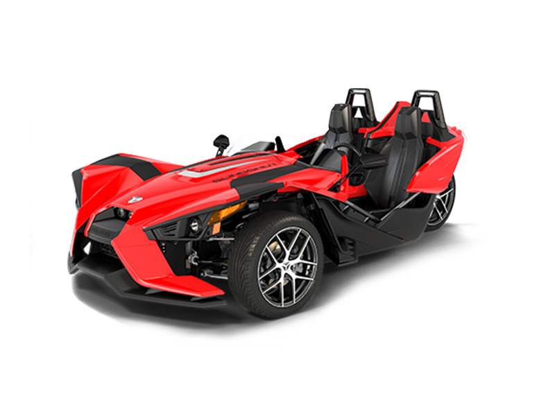 2016 Polaris Slingshot SL Red Pearl