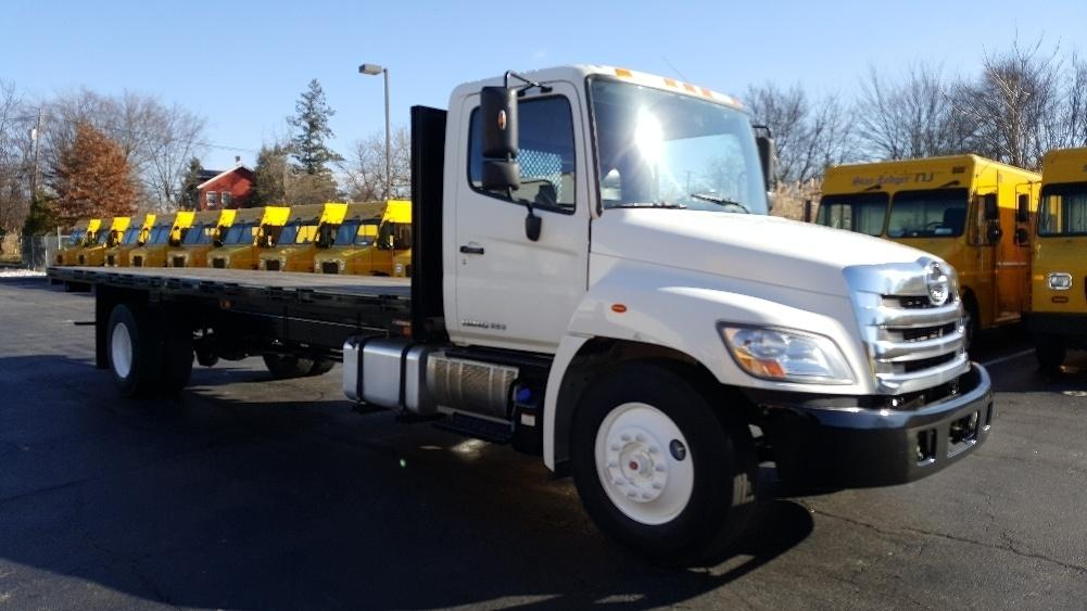 2013 Hino 338 Flatbed Truck