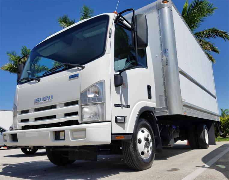 2012 Isuzu Trucks Npr Hd  Box Truck - Straight Truck