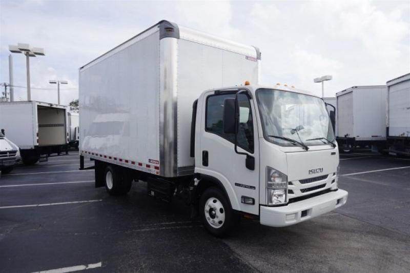 2016 Isuzu Trucks Npr  Box Truck - Straight Truck