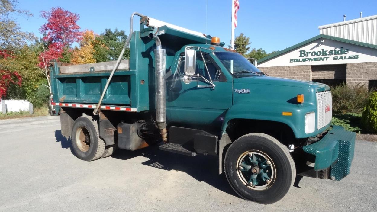 1996 Gmc Topkick C7500 Dump Truck