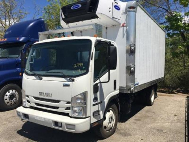 2016 Isuzu Trucks Npr  Refrigerated Truck