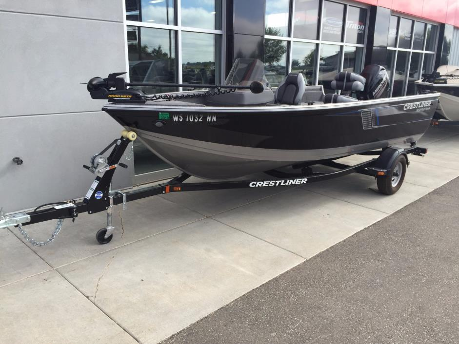 Crestliner fish hawk 1650 sc boats for sale for Used boat motors for sale in sc