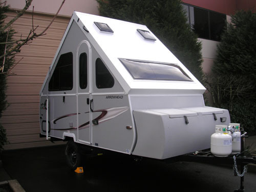 2017 Chalet Rv Arrowhead with Front Storage Box