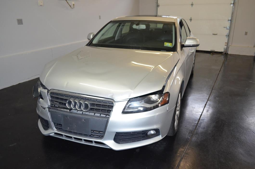 2009 Audi A4 2.0T Prem Plus 2009 Audi A4 2.0T Prem Plus, salvage, wrecked, repairable, rebuildable, ez fixer