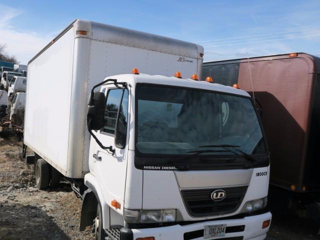 2008 Ud Trucks 1800cs  Box Truck - Straight Truck