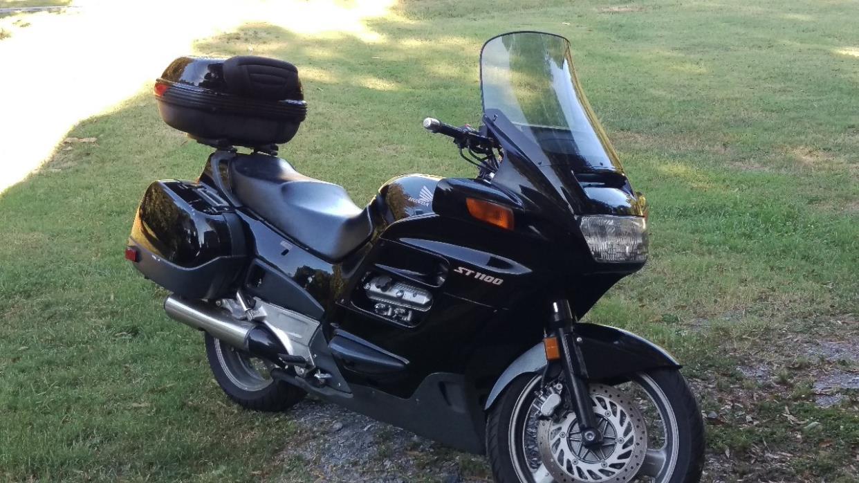 1998 honda st1100 motorcycles for sale. Black Bedroom Furniture Sets. Home Design Ideas