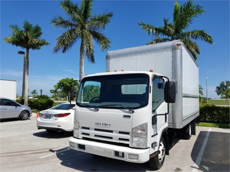 2012 Isuzu Trucks Npr-Hd  Box Truck - Straight Truck