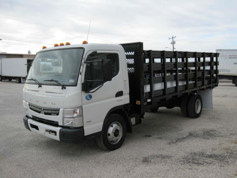 2017 Mitsubishi Fuso Fe 160 Flatbed Truck