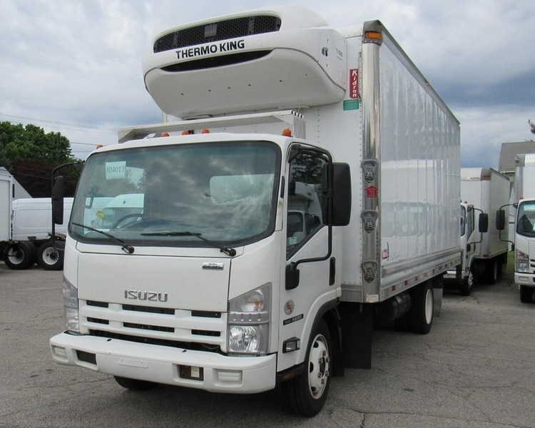 2013 Isuzu Trucks Npr  Refrigerated Truck