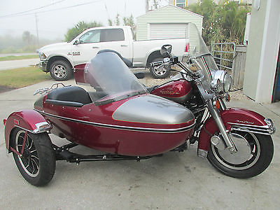 1997 Harley-Davidson Touring  1997 HARLEY DAVIDSON ROAD KING W SIDECAR matched side car from factory flhr-i