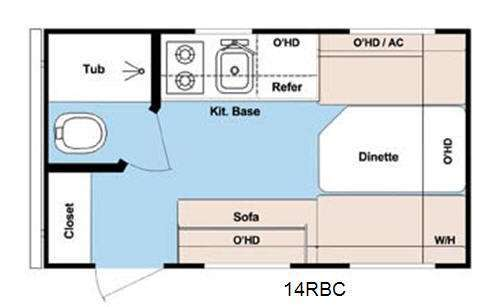 2013 Gulf Stream Rv Ameri Lite Super Lite 14 RBC