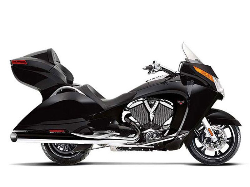 2013 Victory Vision Tour Solid Black