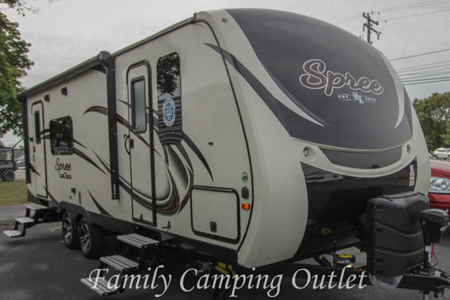 2017 Kz SPREE 261RK REAR KITCHEN LUXURY TRAVEL TRAILER
