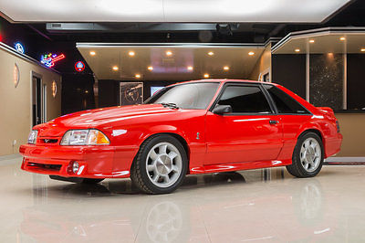 1993 Ford Mustang  VT Cobra! Ford 5.0L V8, 5-Speed, 57k Original Miles, Vibrant Red, #407 of 4993