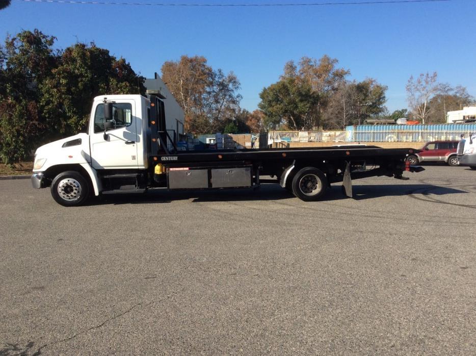 2008 Hino 258lp  Rollback Tow Truck