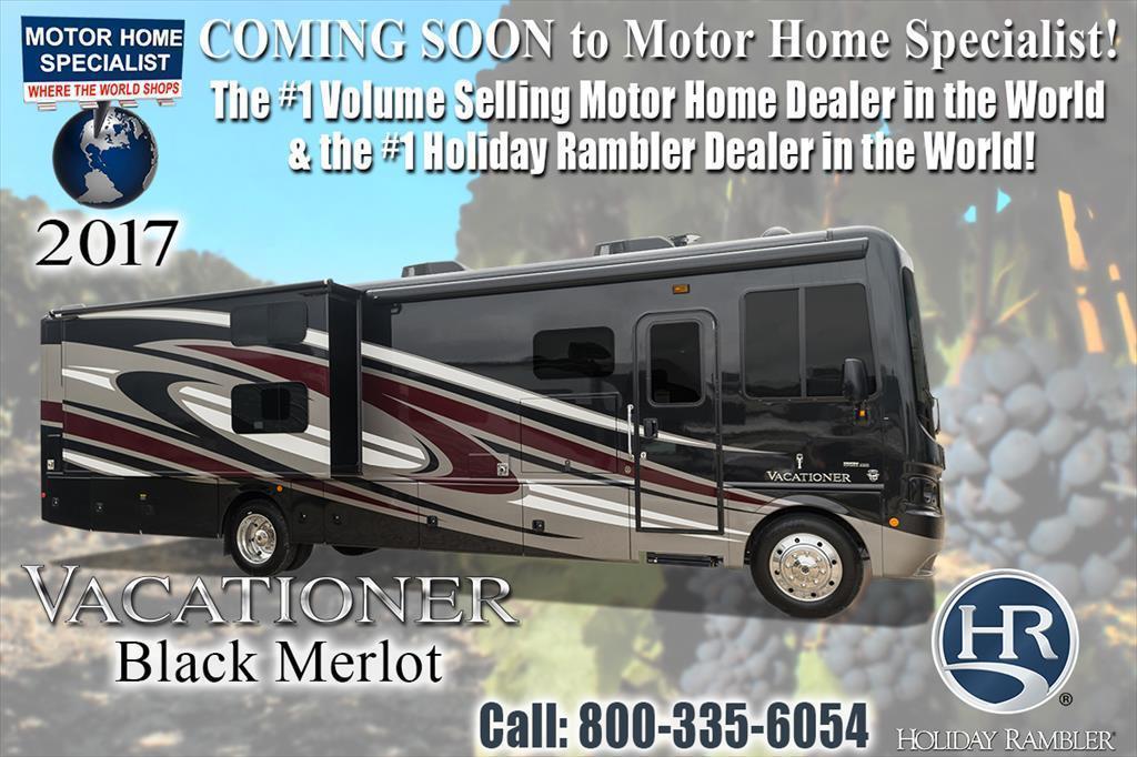 2017 Holiday Rambler Vacationer 35K Bath & 1/2 RV With Sat W