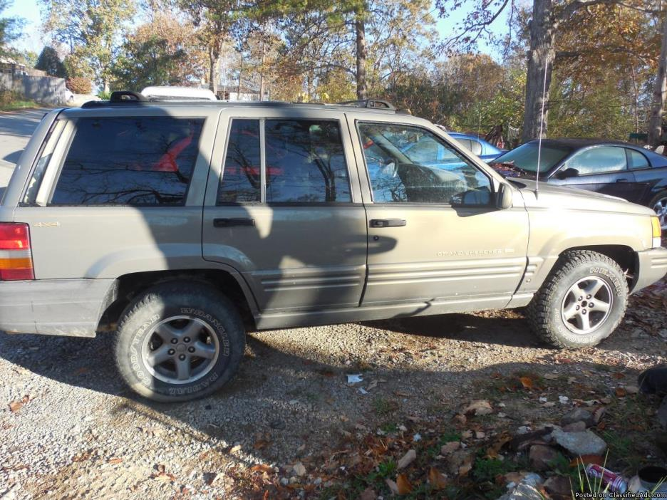 1996 jeep grand cherokee 4x4 cars for sale. Black Bedroom Furniture Sets. Home Design Ideas