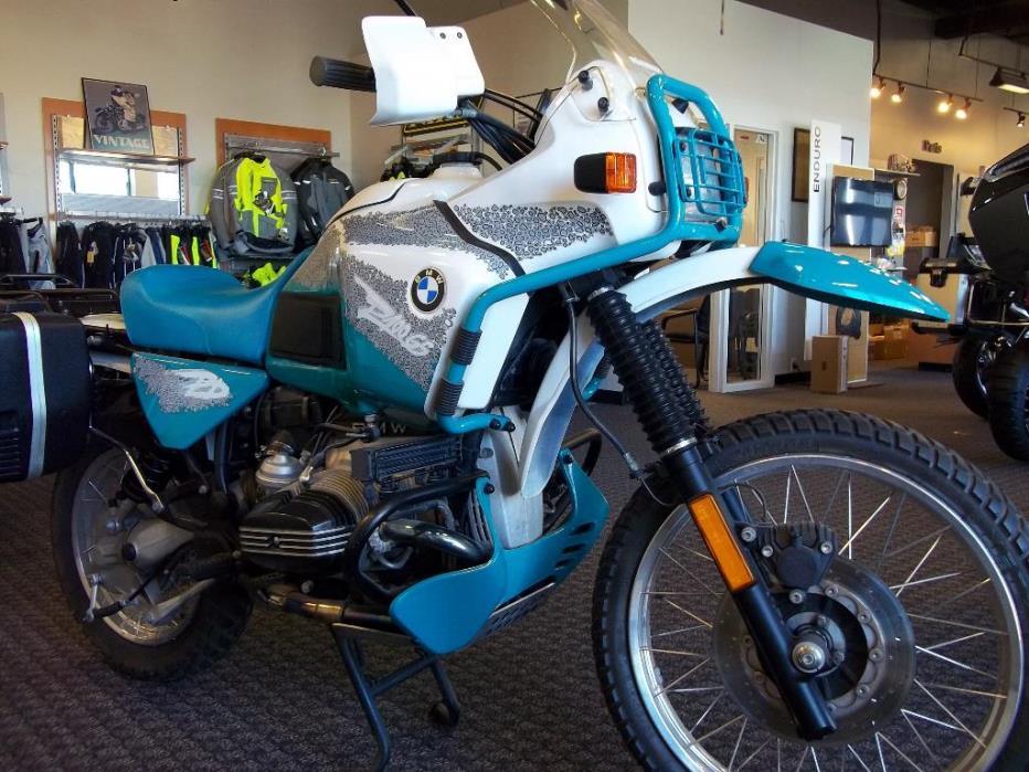 Bmw R100 Paris Dakar Motorcycles For Sale In Omaha Nebraska