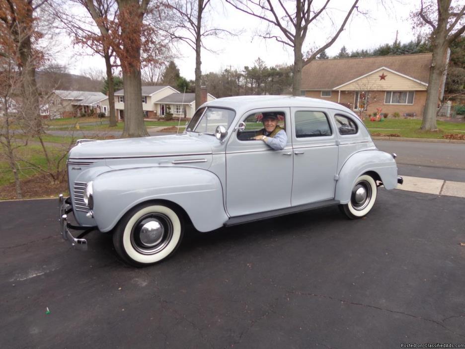 1940 Plymouth ORIGINAL RESTORED