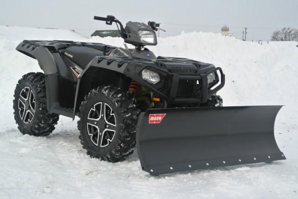 2015 Polaris Sportsman 850 4X4 + Snow Plow