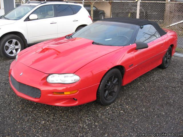 Chevrolet Camaro Kentucky Vehicles For Sale