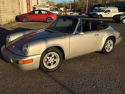 1976 Porsche 911 convertible 1976 PORSCHE 911 CONVERTIBLE WITH 3.0L SC ENGINE
