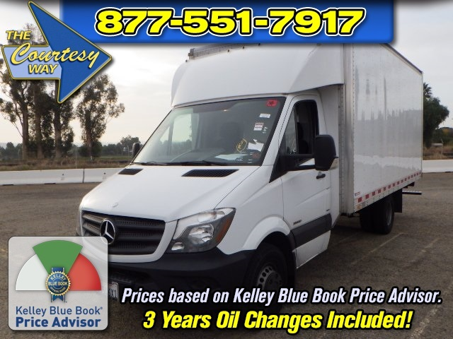 2015 Mercedes-Benz Sprinter 3500 Cab Chassis